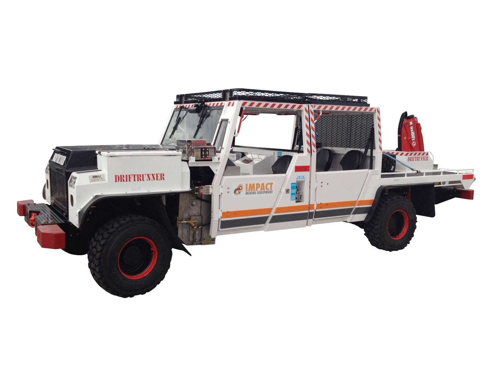 Driftrunner Dual Cab Ute with Maxilift Crane - Impact Mining